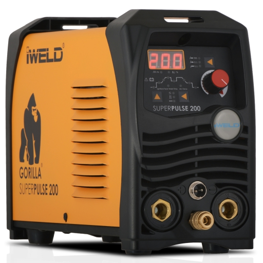 IWELD GORILLA SUPERPULSE 200 hegesztő inverter